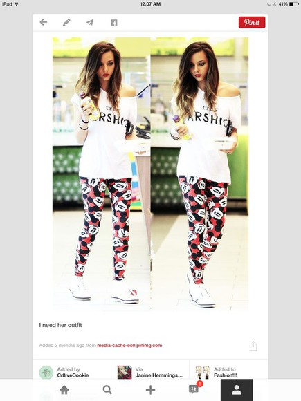 mickey mouse leggings jade thirlwall