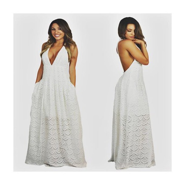 Dress White Maxi Dress, Maxi Dress, Summer, Summer Dress, White, Baby