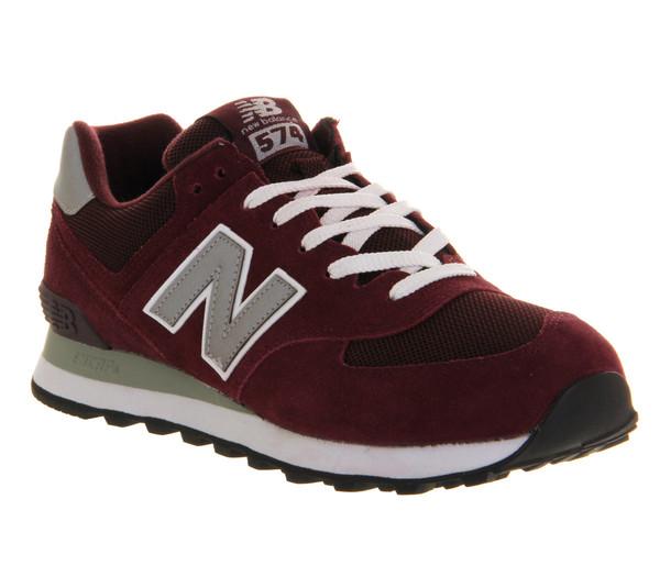 shoes new balance burgundy