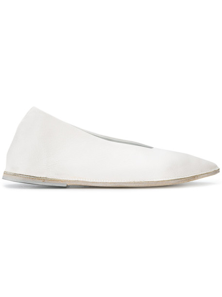 Marsèll women pumps leather white shoes