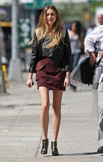 whitney port skirt