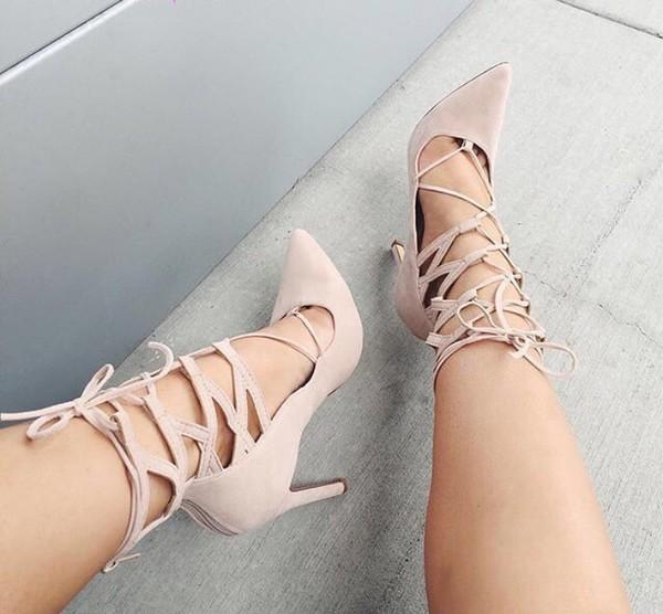 shoes nude shoes suede cutout heels nude nude heels fashionista