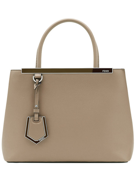 Fendi - Petite 2Jours bag - women - Calf Leather - One Size, Brown, Calf Leather