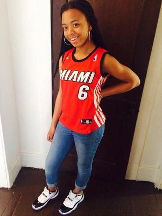 shirt shoes jordans jersey miami concord