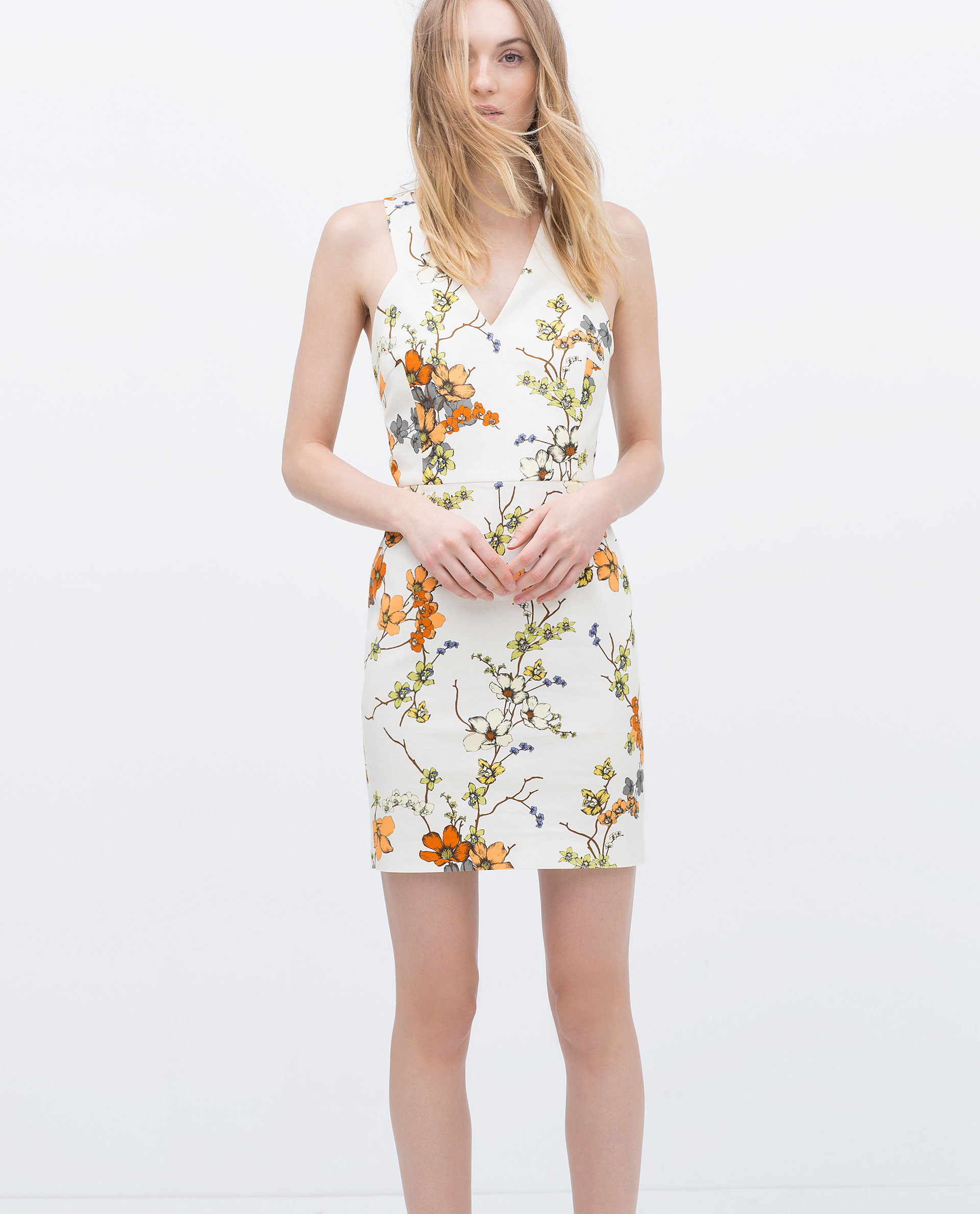 40db57b6757 PRINTED DRESS - View all - Dresses - WOMAN