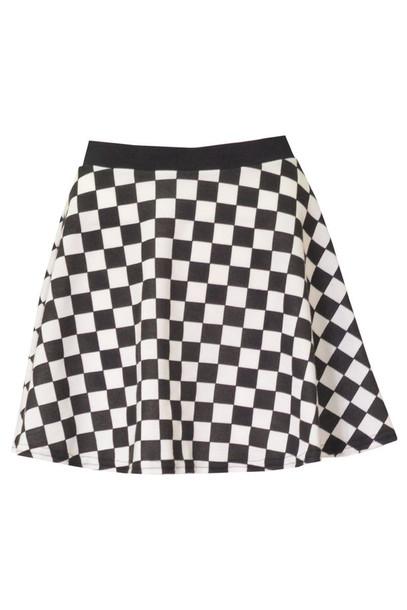 skirt ladies reta chequered sketar