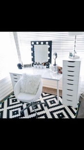 home accessory,white,desk,storage,make-up,ikea