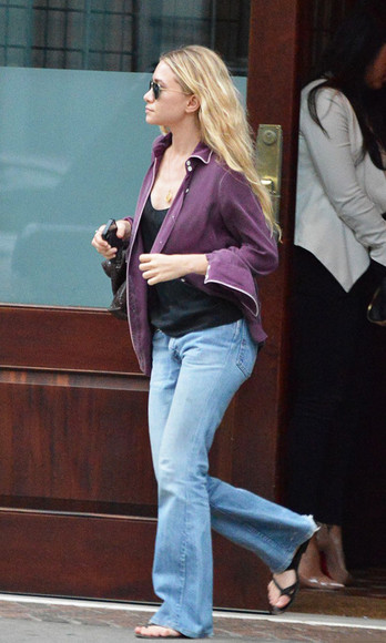 olsen sisters sunglasses jewels top shoes jeans blogger