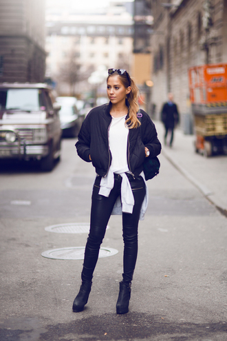 kenza sweater t-shirt jacket pants jewels sunglasses shoes