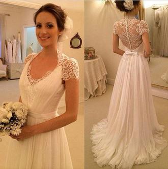 dress wedding dress bridal gown lace wedding dress cap sleeve wedding dresses tulle wedding dress elegant wedding dresses