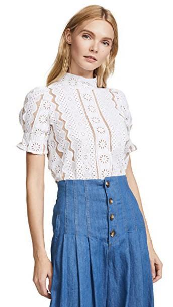 top lace top lace mesh tan white