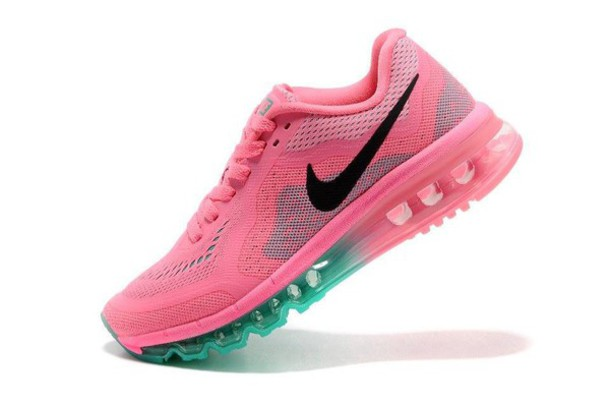 shoes nike pink green neon running green air max running shoes