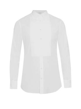 shirt pleated top