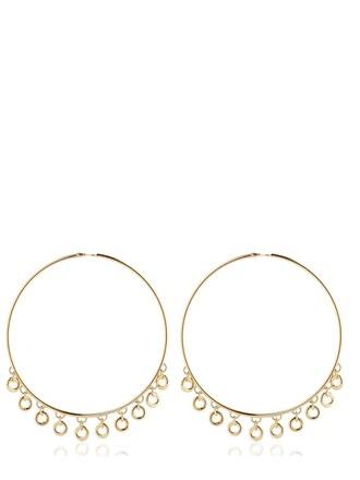 oversized lolita earrings hoop earrings gold jewels