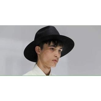 hat black fashion boy menswear fedora felt hat mens accessories mens fedora