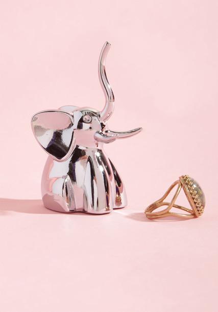 Modcloth elephant ring jewels