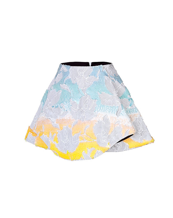 skirt peter pilotto sequined crescent skirt