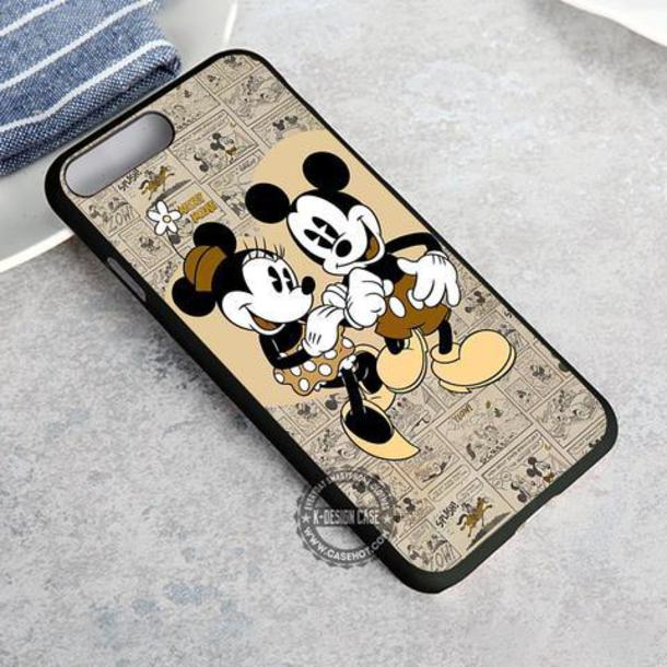 Minnie Mickey Mouse Disney Case Cover