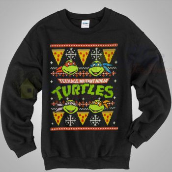 teenage mutant ninja turtles christmas sweater mpcteehouse