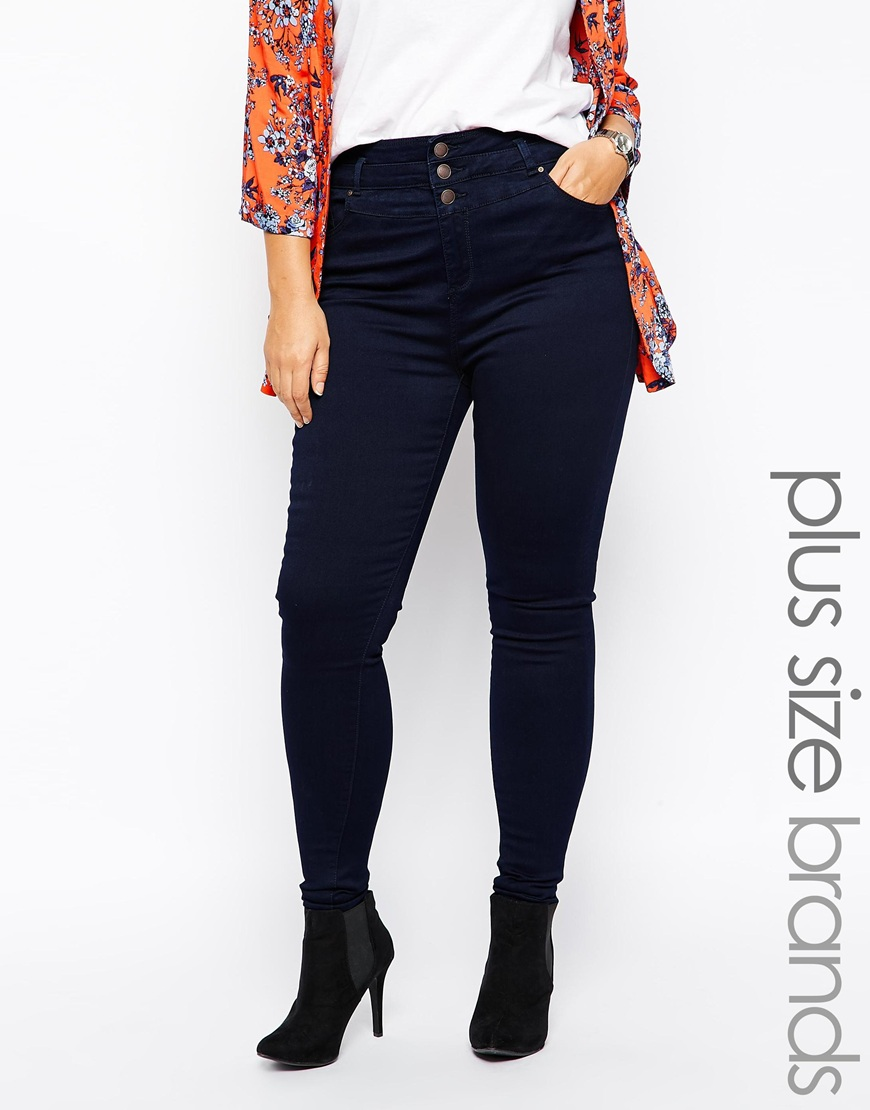 New Look Inspire High Waisted Supersoft Skinny Jean at asos.com