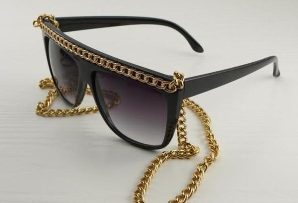 Lady Gaga Long Chains Sunglasses – Glamzelle