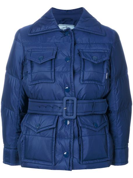 Prada jacket women blue