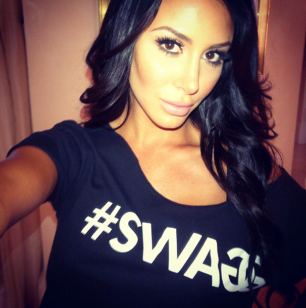 Shirt swag black crop tops wheretoget Jennifer stano