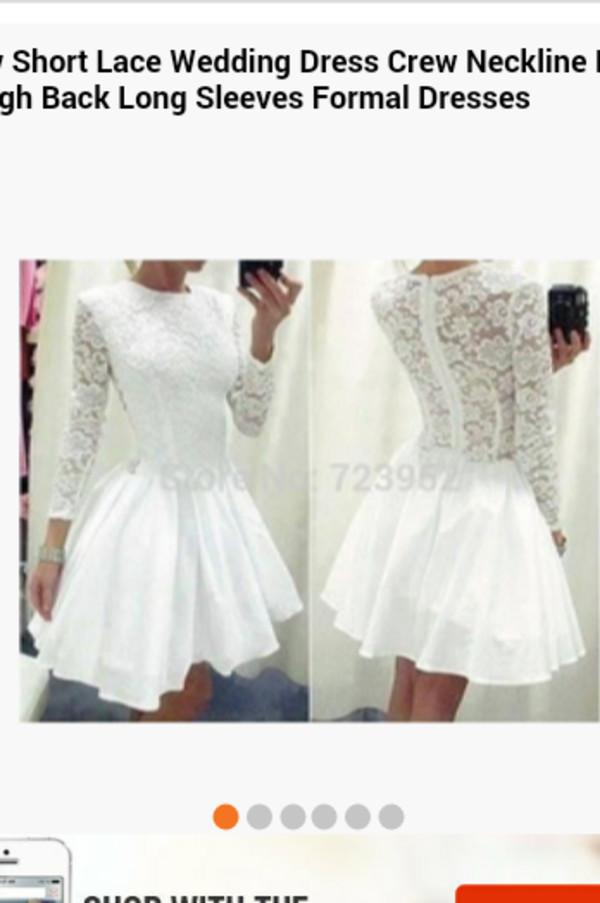 white dress lace dress