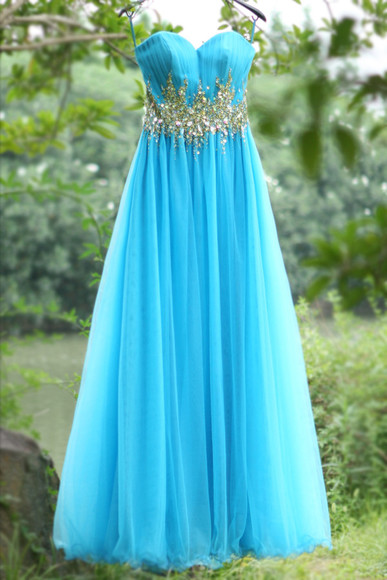 prom dresses 2014 beaded sweetheart ruffles long evening dress tulle dress