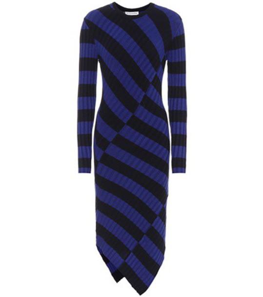 dress knit blue