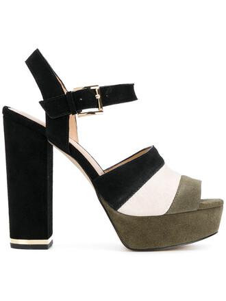 women pumps platform pumps leather suede shoes