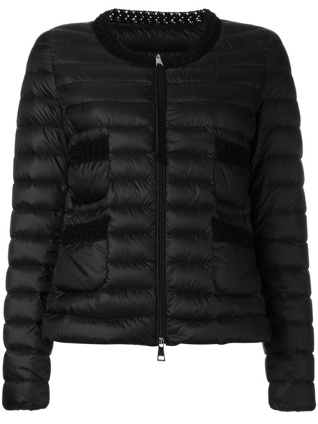 moncler jacket women black