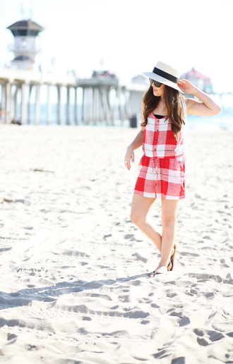 dress corilynn blogger romper swimwear hat