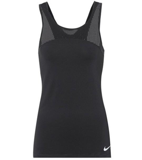 Nike tank top top black