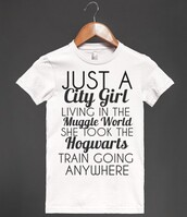 shirt,muggle,hogwarts,harry potter shirt,funny,t-shirt,muggle shirt,harry potter