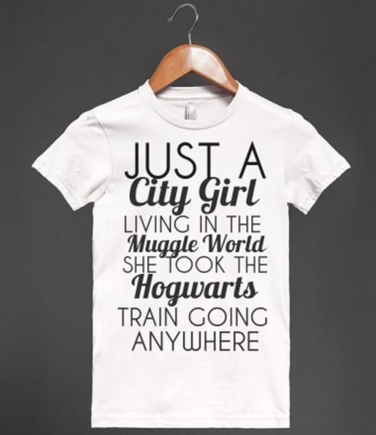 Shirt Muggle Hogwarts Hogwarts Harry Potter Shirt