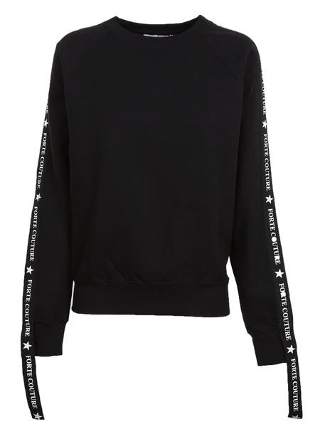 FORTE COUTURE sweatshirt black sweater