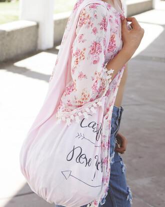 bag california new york pink