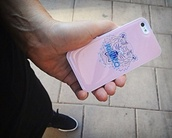 jewels,phone cover,kenzo,cool,tiger,pretty