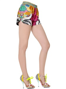 SHORTS - MANISH ARORA -  LUISAVIAROMA.COM - WOMEN'S CLOTHING - SPRING SUMMER 2014