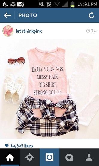 shirt baby pink sleeveless