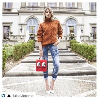 jeans dsquared2 summer 2015 trendy blogger firenze4ever fashion blogger helena bordon