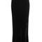 Velvet maxi skirt with silk