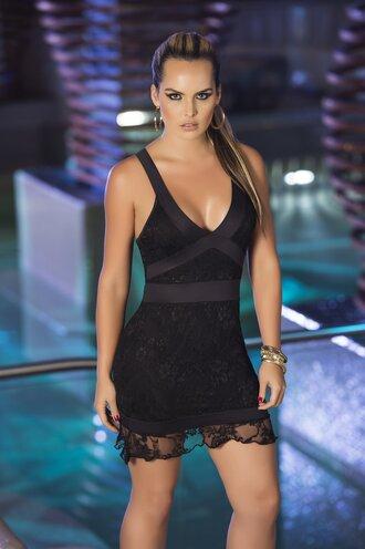 dress black dress black party dress