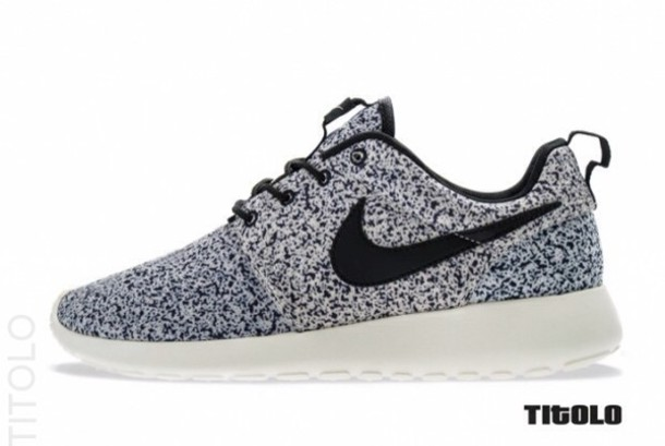 shoes nike running shoes speckled nike roshe run