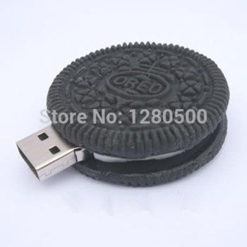 C 55 black chocolate oreo cookies plastic model 1gb 4gb 8gb 16gb 32gb usb 2.0 pendrive usb flash drive memory card disk stick