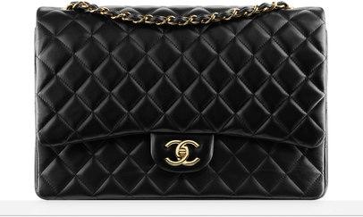 CHANEL Fashion - Large classic flap bag
