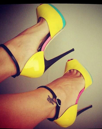 shoes peep toe heels strappy sandals high heels