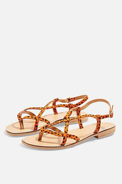 TopShop HAYLEY Sandals - Orange