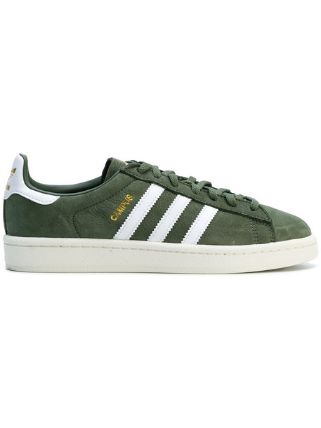 Adidas women sneakers suede green shoes